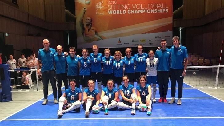 Sitting Volley: troppo forte la Cina per le azzurre