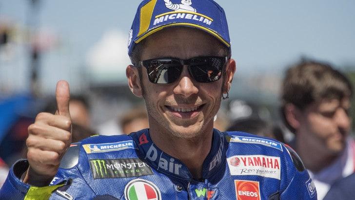 MotoGp Germania, Rossi: «Soddisfatto del secondo posto»