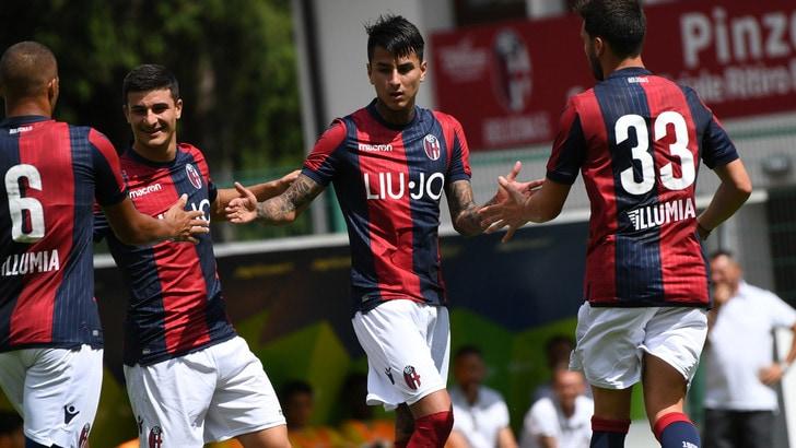 Serie A Bologna, test ok. Destro-Pulgar-Mbaye-Falcinelli: 4-0 al La Fiorita