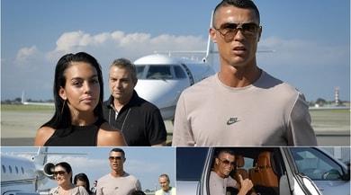 Juventus, Cristiano Ronaldo sbarca a Torino