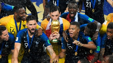 Francia campione del mondo: che show la premiazione!