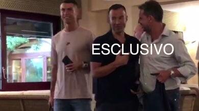 Juventus, Cristiano Ronaldo a cena a Torino