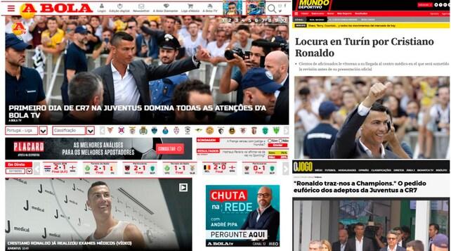 Juventus, Cristiano Ronaldo-day: gli occhi del mondo puntati sul J Medical