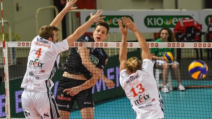 Volley: Superlega, Gabriele Nelli torna a giocare a Trento
