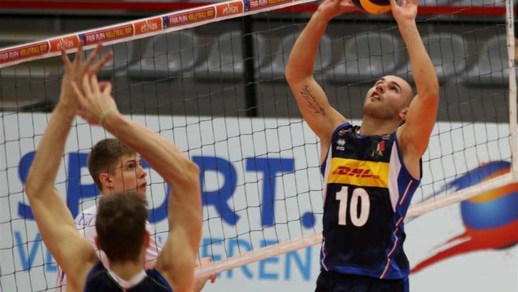Volley: Europei Under 20, l'Italia sconfitta al tie break dalla Russia