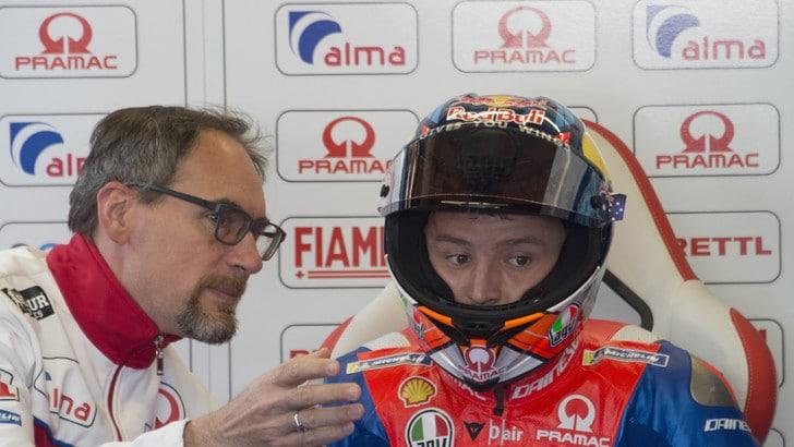 MotoGp Ducati, Miller: «L'incidente al via? Tutta colpa di Espargaró»