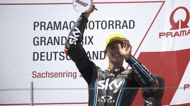 Moto2, Marini: «Importante non fermarsi e continuare a crederci»