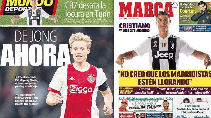 Cristiano Ronaldo gela il Real: «Non piangeranno per me. Volevo solo la Juventus»