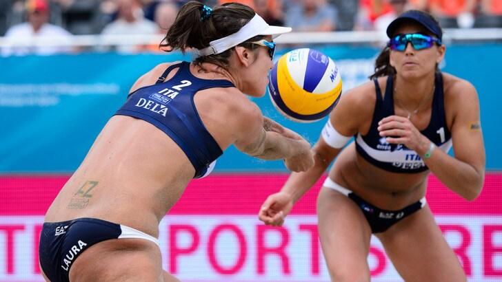 Beach Volley: Europei, Giombini-Menegatti alla fase ad eliminazione diretta
