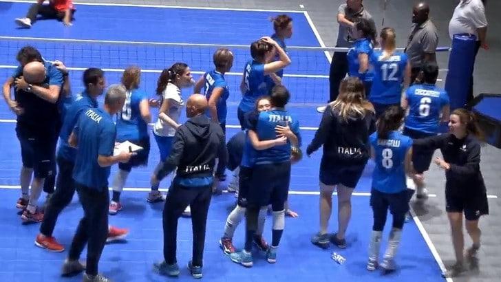 Sitting Volley: Mondiali, l'Italia sfida l'Olanda per entrare in semifinale