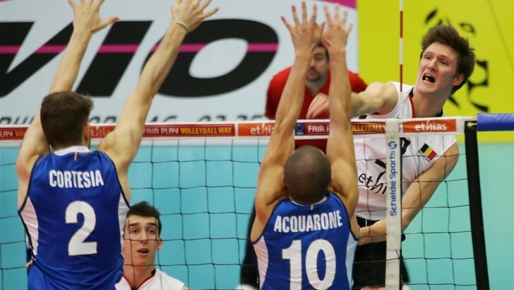 Volley: Europei Under 20, l'Italia cede Belgio, qualificazione difficile