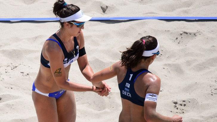 Beach Volley: Europei, sono fuori Caminati-Rossi e Giombini-Menegatti