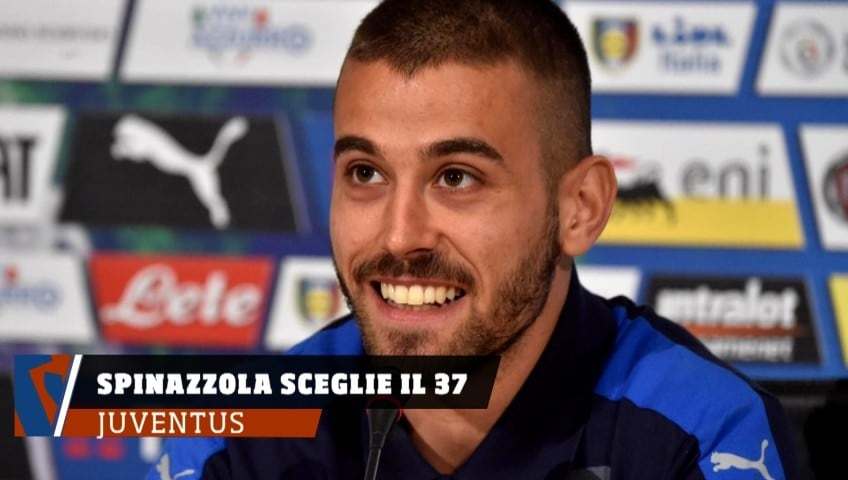 Juventus, Spinazzola lascia la 7 a Ronaldo...