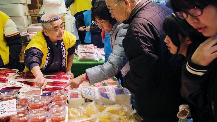 Giappone: aspettativa di vita in aumento