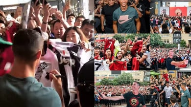 Juventus, Ronaldo follie in Cina