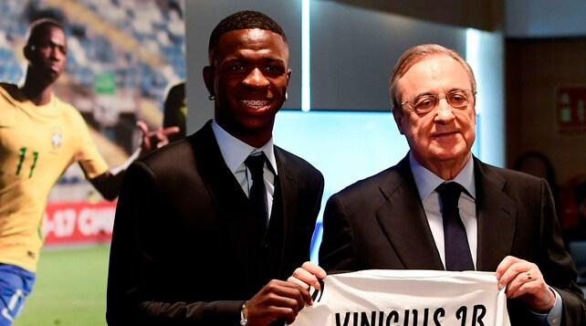 Real Madrid, è il giorno di Vinicius Junior