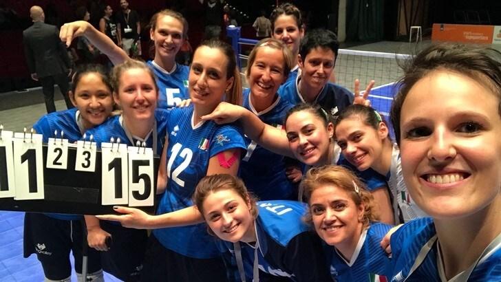 Sitting Volley: Mondiali, ancora un' impresa per Italia: è semifinale