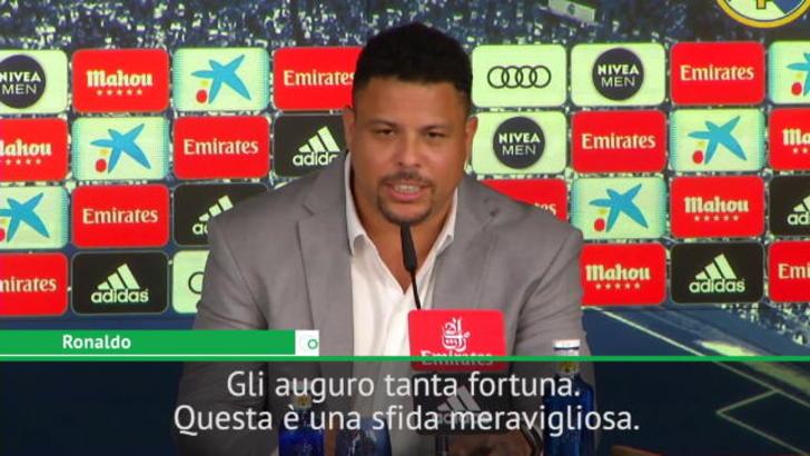"""Ronaldo Il Fenomeno: """"Vinicius ha fatto molti sacrifici per il suo sogno"""""""