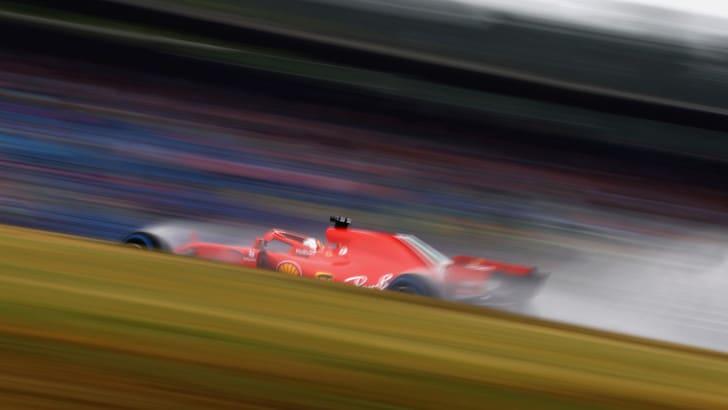 F1 Germania, la pioggia condiziona le Libere 3, Vettel 4°