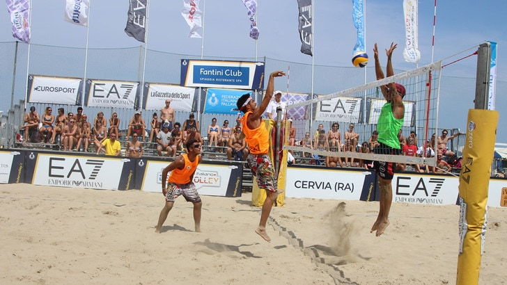 Beach Volley: Campionato Italiano, a Cervia chiusa la prima giornata