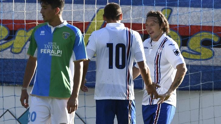 Serie A Sampdoria, 1-1 con la Feralpisalò