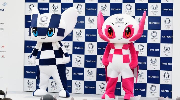 Tokyo 2020, presentate Miraitowa e Someity