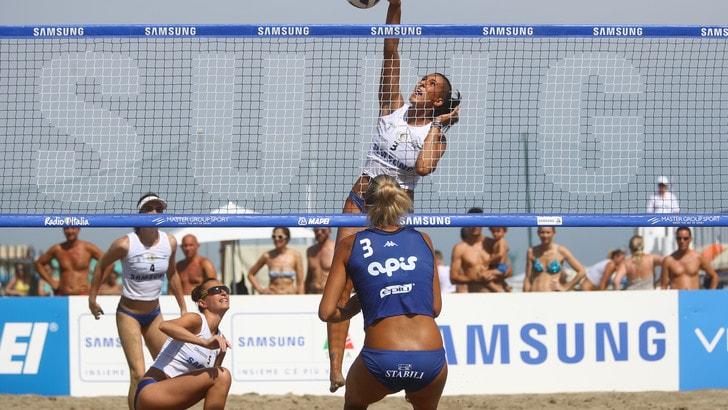 Sand Volley: a Riccione Monza-Mondovì e Scandicci-Casalmaggiore le semifinali