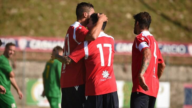 Cagliari-Virtus Bolzano 3-0: Farias bussa due volte