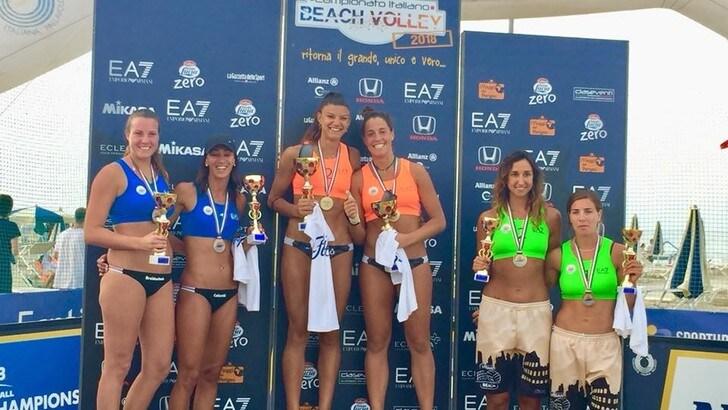 Beach Volley: a Cervia trionfano Manni-Bonifazi e Traballi-Puccinelli