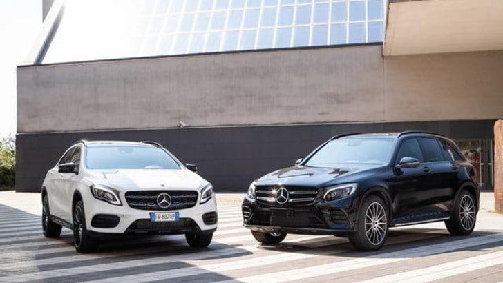 Mercedes-Benz, ecco la Night Edition