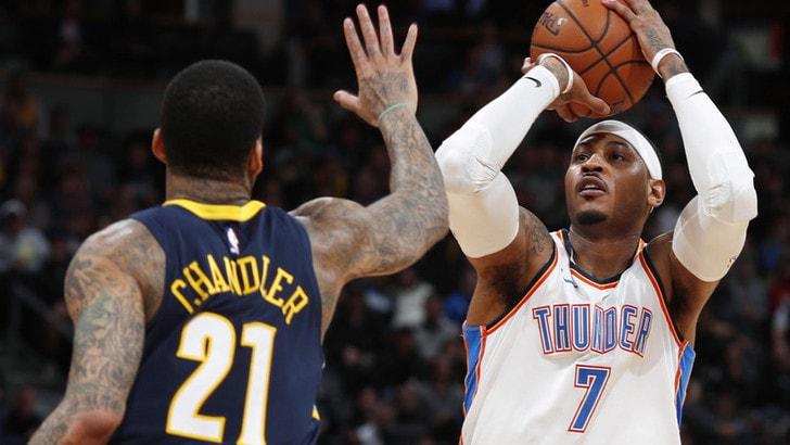 NBA, Carmelo Anthony verso i Rockets