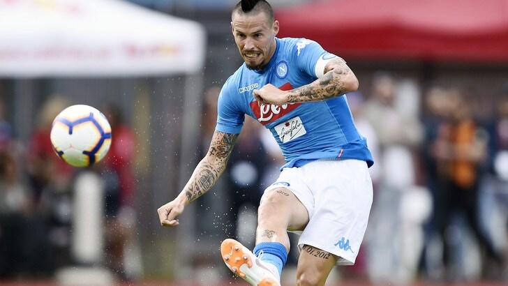 Hamsik: «Sono rimasto a Napoli per Ancelotti»