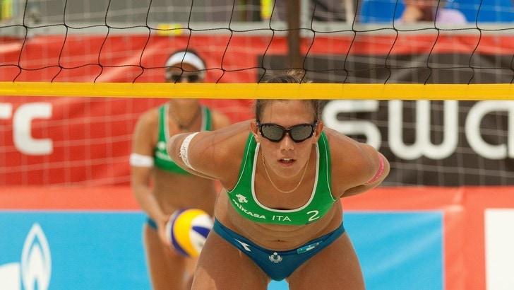 Beach Volley: Orsi Toth torna in campo in coppia con Menegatti