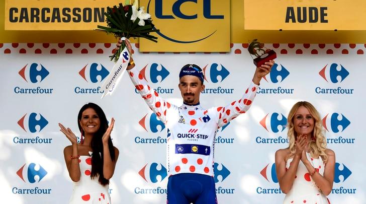 Tour de France, Alaphilippe vince la 16ª tappa, Pozzovivo 5°