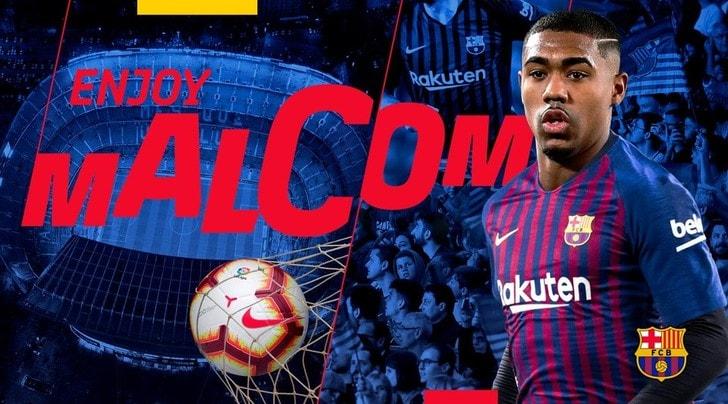 Barcellona, ufficiale: Malcom è un giocatore blaugrana