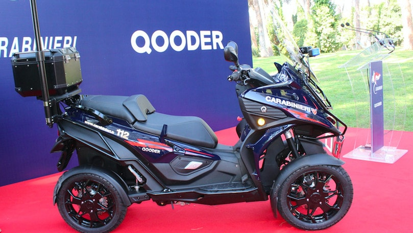 "Qooder, un ""quattro ruote"" per i Carabinieri"
