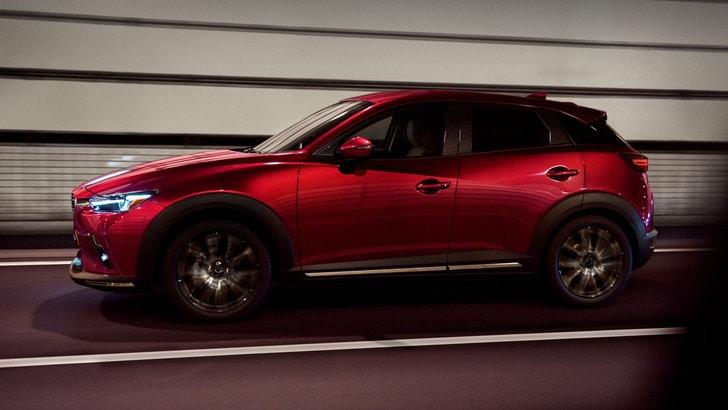 Mazda CX-3, tecnologia e motori sostenibili