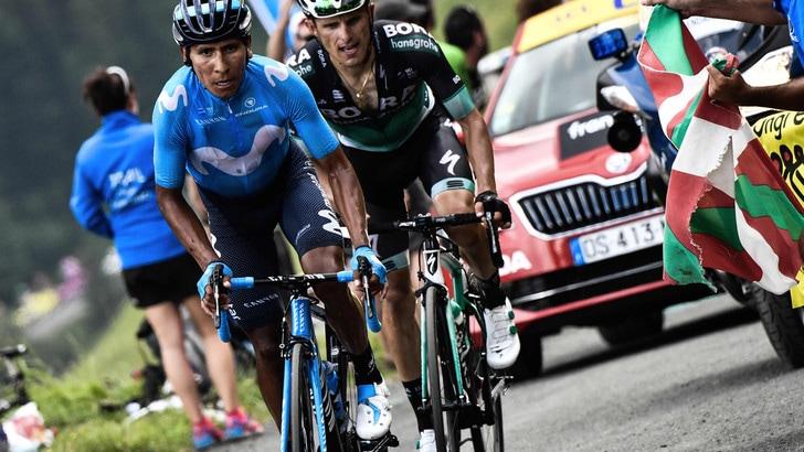 Tour de France, Quintana si impone sul Col de Portet e vince la 17ª tappa