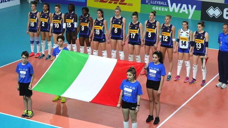 Volley: la Slovenia batte ancora l'Under 19 di Bellano