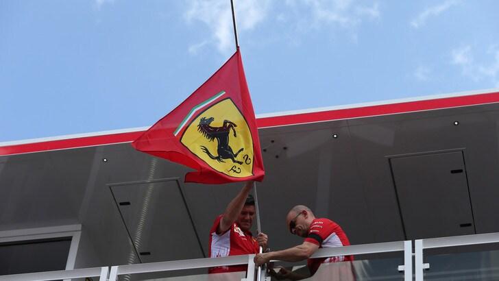 F1 Ungheria: Ferrari a lutto per Sergio Marchionne