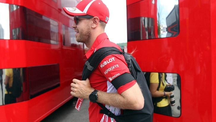 F1 Ungheria: i bookmaker puntano sull'orgoglio di Vettel