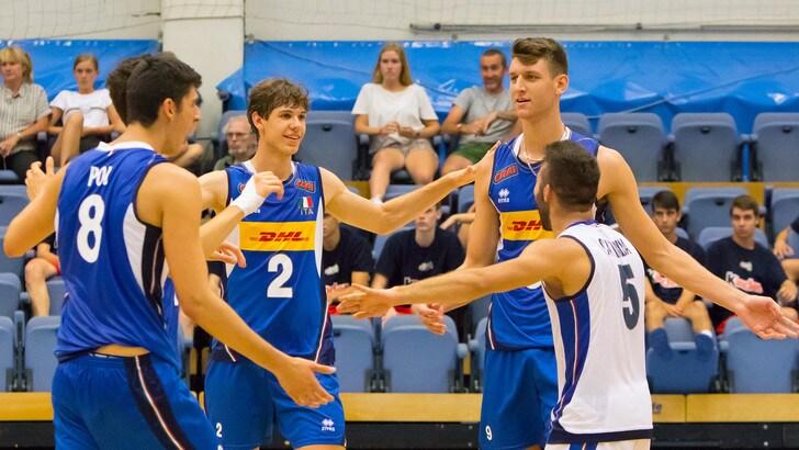 Volley: Torneo Wevza, L'Italia Under 18 in semifinale