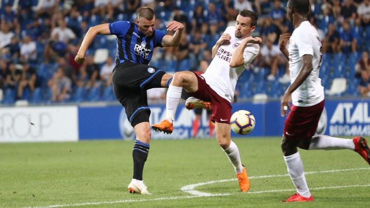 Europa League, Atalanta-Sarajevo 2-2: preliminari in bilico per Gasperini