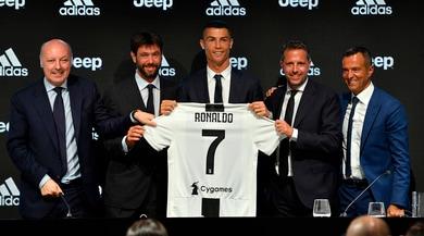 Cristiano Ronaldo in uno dei feudi di Mendes