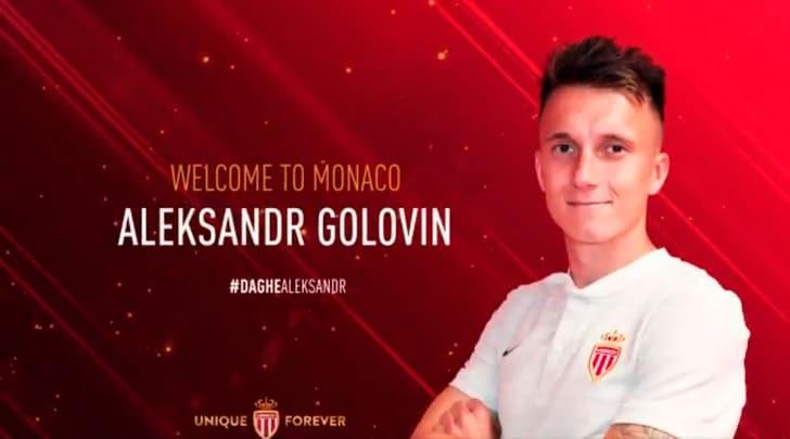Monaco, ufficiale: preso Golovin dal Cska Mosca