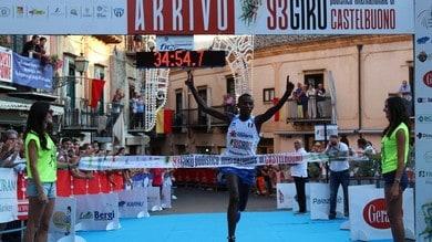 Ones Nzikwikunda protagonista  al Giro Podistico di Castelnuovo