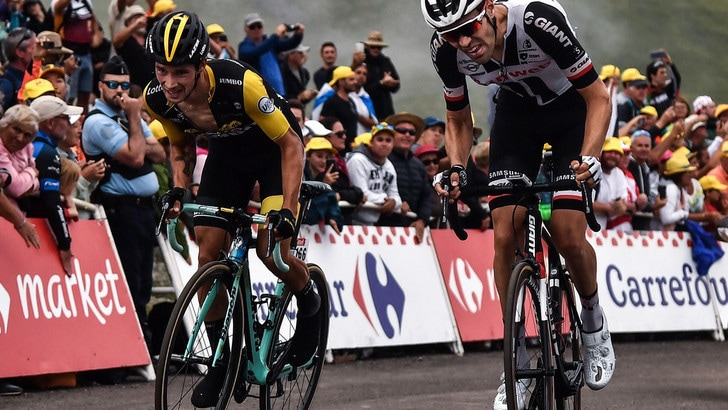 Tour de France, a Roglic l'ultimo traguardo sui Pirenei. Thomas ancora in giallo