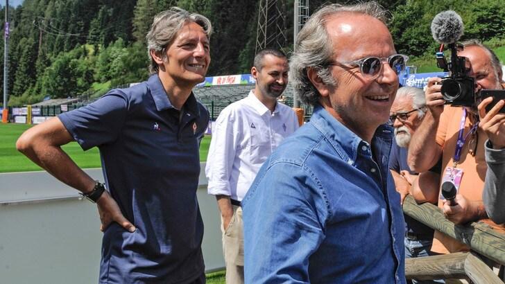 Fiorentina, la Curva Fiesole espone striscione contro Della Valle