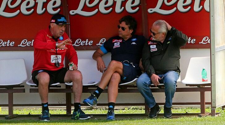 Napoli, De Laurentiis:«Salta Sabaly. Balotelli? Da anni gli dico no»