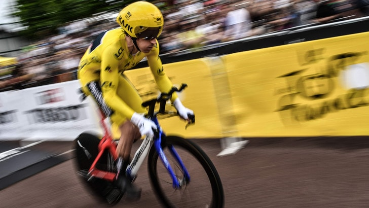 Tour de France, trionfa Thomas! Cronometro a Dumoulin